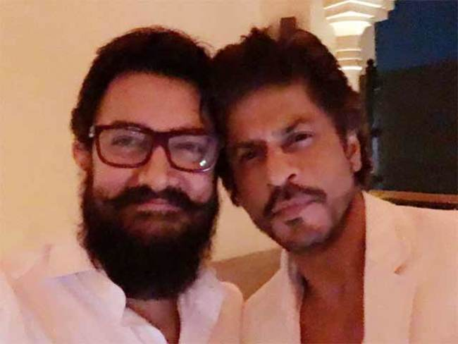 Amir Khan and Shahrukh Khan