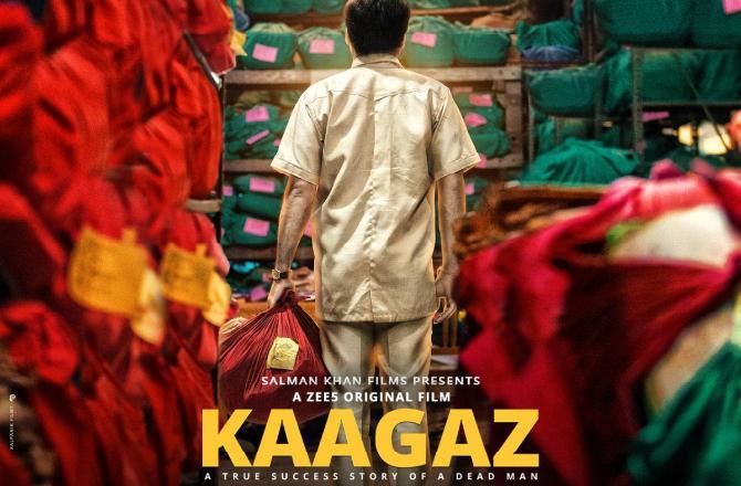 Kaagaz poster. Image source: PR