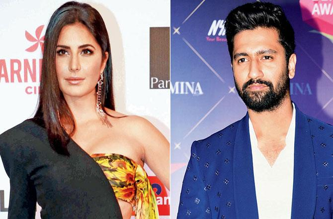 Katrina Kaif and Vicky Kaushal