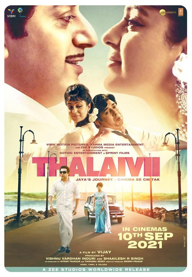 Kangana Ranaut starrer Thalaivii to release in theatres on September 10